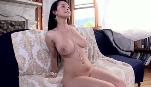 Katrina Jade just about bubbly booty plays just about indestructible boner